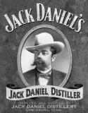 Jack Daniel's - Portrait Plaque en métal