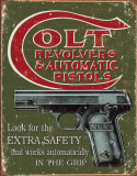COLT - Extra Safety Metalen bord