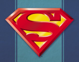 Superman Logo Placa de lata