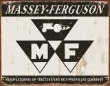 Massey Ferguson Logo Plaque en métal