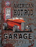 Legends - American Hot Rod Plaque en métal