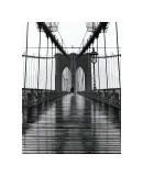 Pont de Brooklyn, New York Reproduction procédé giclée par Christopher Bliss