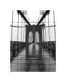 Brooklyn-broen, New York Giclée-tryk af Christopher Bliss