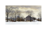 Bucks Winter Giclee Print by Ray Hendershot