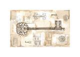 La llave de la ciudad Lámina giclée por Jane Claire