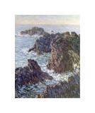 Rock Points at Belle-Ile, c.1886 Impressão giclée por Claude Monet