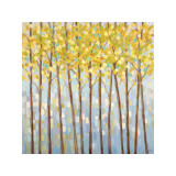 Glistening Tree Tops Giclee Print by Libby Smart