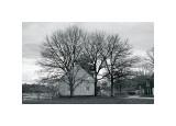 Single Country House Giclee-trykk av Harold Silverman