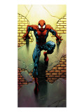 Ultimate Spider-Man No.72 Cover: Spider-Man Print by Mark Bagley