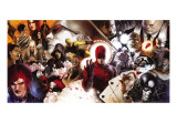 Daredevil No.500 Cover: Daredevil and Kingpin Poster