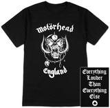 Motorhead - England Camisetas