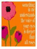 Deeper Than Roses Giclee-trykk av Lisa Weedn
