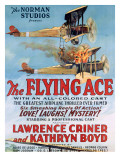 The Flying Ace Movie Poster Giclee-trykk