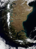 Chile and the Patagonian Region of Argentina Lámina fotográfica