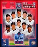Minnesota Twins 2010 AL Central Champions Composite Photo