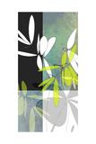 Intensives Olivgrün Kunstdrucke von Jan Weiss
