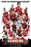 Arsenal - The Gunners Print