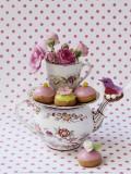 Cakes and Bird Kunst af Louis Gaillard