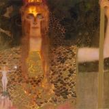 Pallas Athene, c.1898 Kunstdrucke von Gustav Klimt