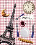 Checked Paris Julisteet tekijänä Anaïs Dulac