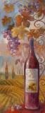 Pays des vignobles II Poster par Elaine Vollherbst-Lane