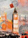 London Vintage Prints by Robin Jules