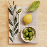 Olive and Lemon Print by Camille Soulayrol