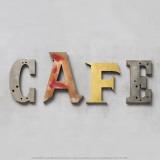 Café Kunst af Louis Gaillard
