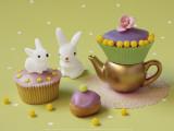Cupcakes and Rabbits Posters af Louis Gaillard