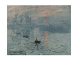Impression, Sunrise Prints by Claude Monet