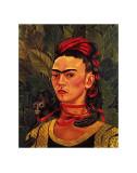 Self Portrait with a Monkey, c.1940 Affiches par Frida Kahlo
