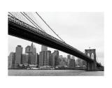 Manhattan from Brooklyn Arte por Erin Clark