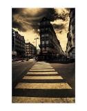 The Two Streets Poster von Mark Verlijsdonk