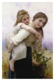 Not Too Much to Carry Affiche par William Adolphe Bouguereau