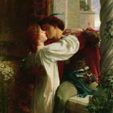 Romeo and Juliet, c.1884 Konst av Frank Bernard Dicksee