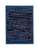 Heroic Strokes of the Bow, c.1928 Plakater av Paul Klee