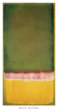 Untitled, ca. c.1949 Print by Mark Rothko