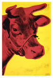 Cow, c.1966 (Yellow and Pink) Print van Andy Warhol