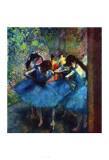 Ballerinas Plakat av Edgar Degas
