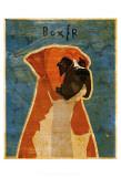 Boxer Schilderijen van John Golden
