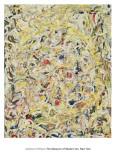 Shimmering Substance, c.1946 Plakater af Jackson Pollock
