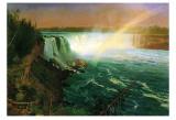 Niagara Falls Posters af Albert Bierstadt