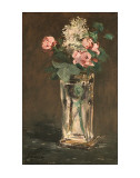Flowers in a Vase, c.1882 Poster von Edouard Manet