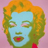 Marilyn Monroe, 1967 (pale pink) - Marilyn Monroe, 1967 (rose pâle) Affiches par Andy Warhol