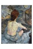 La Toilette Plakater av Henri de Toulouse-Lautrec