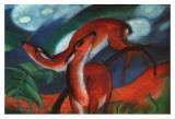 Red Deer II Plakat af Franz Marc