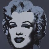 Marilyn Monroe, 1967 (black) Poster von Andy Warhol