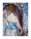 Before the Mirror Posters by Edouard Manet