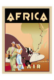 Africa by Air Posters af Brian James