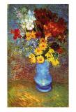 Vase with Anemone Posters av Vincent van Gogh